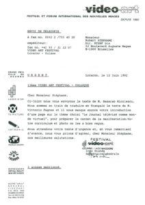 VAF 1992 19920612 VAF Stephane Masi