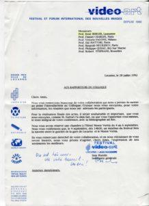 VAF 1992 19920728 VAF Rapporteurs Colloque PP525 1807
