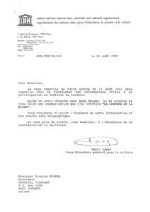 VAF 1992 19920824 Lopes Bianda Unesco Masi
