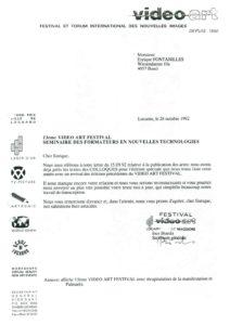 VAF 1992 19921028 VAF Rapporteurs Colloque Masi