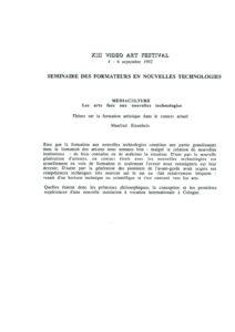 VAF 1992 Eisenbeis mediaculture 19920228 Masi