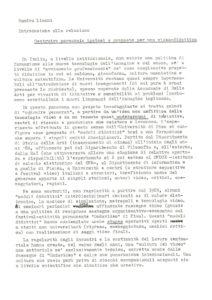 VAF 1992 Lischi Costruire Percorsi proposition Masi