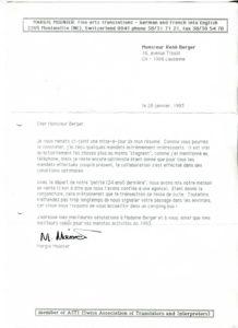 VAF 1993 19930128 Mounier Berger PP525 1807