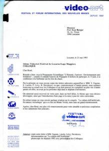VAF 1993 19930521 VAF Rapporteurs Colloques PP525 1807