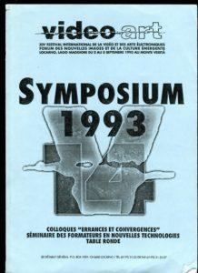 VAF 1993 A Symposium Brochure Long