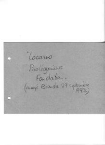 VAF 1993 Berger Rene Prolegomene Fondation PP525 639