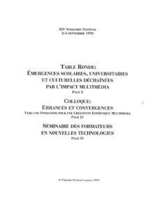 VAF 1993 Colloques Index2 Masi