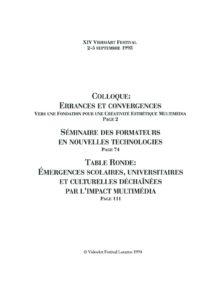 VAF 1993 Colloques Index Masi