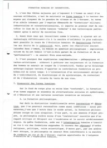 VAF 1993 Jacob Formation humaine inventivite Paris XVIII PP525 1807