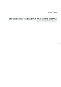 VAF 1993 Laszlo Information technology social change Masi