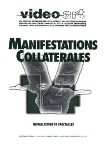VAF 1993 Manifestations Collaterales Brochure Masi