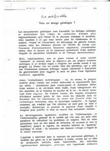 VAF 1993 Monnier Raball Vers Design Genetique PP525 1807