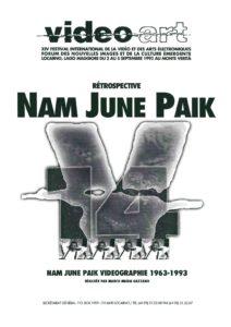 VAF 1993 Paik Brochure Masi