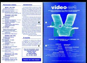VAF 1993 Programme Depliant2 PP525 1807