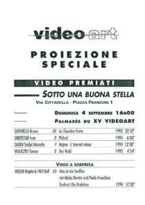 VAF 1994 Projection speciale Masi