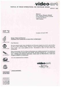 VAF 1995 19950406 VAF Monnier Raball seminaire formateurs Masi