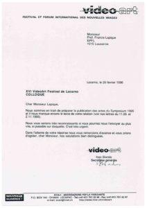 VAF 1995 19960226 VAF Lapique texte Masi