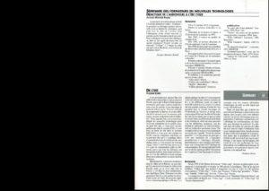 VAF 1995 Borev Est Seminaire