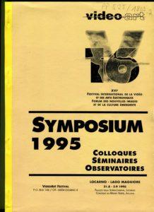 VAF 1995 Colloques Brochure PP525 1809