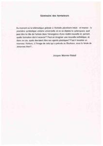 VAF 1995 Monnier Raball Seminaire Formateurs Masi