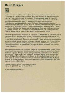 VAF 1996 CV Berger Masi