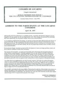VAF 1997 19970430 VAF Participant congres Locarno Masi