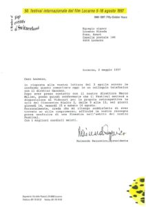 VAF 1997 19970502 Rezzonico Bianda Festival Film Locarno Masi