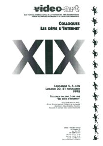 VAF 1998 A Colloque Defis Internet Brochure Masi