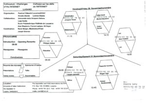 VAF 1998 Colloque Defis Internet mindmap Masi