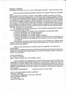 VAF 1998 Colloque Premiere annonce PP525 1812