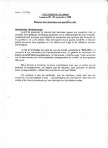 VAF 1998 Colloque Resume Reponses Cles 19981127 PP525 1812