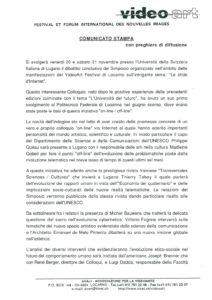 VAF 1998 Communique Presse 19981117 Masi