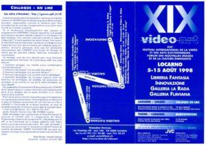 VAF 1998 Programme depliant Masi