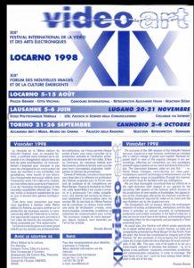 VAF 1998 Programme depliant PP525 1813