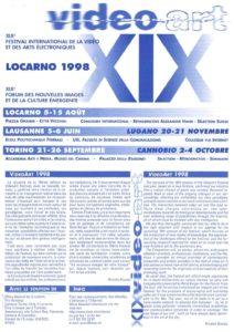 VAF 1998 Programme rv Masi
