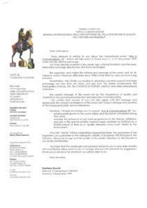 VAF 1999 Arte Communicazione 19991109 Stucchi Masi