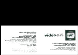 VAF 1999 Carton Invitation Masi