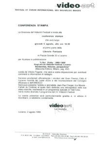 VAF 1999 Communique Presse 19990802 Annonce publication Masi