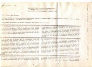 VAF 1999 Invitation participation metacolloque PP525 1813