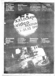 VAF 1999 Metafestival Affichette PP525 1813