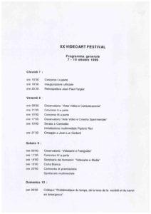 VAF 1999 Programmation Masi