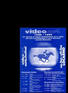 VAF 1999 Programme Meta Festival Depliant PP525 1813