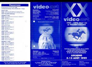 VAF 1999 Programme depliant PP525 1813