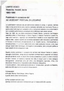 VAF 1999 Projet Publication Fagone 19990131 Masi