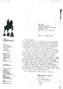 VAF 2000 20000606 Gazzano Bianda Arte Communicazione Masi