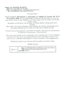 VAF 2000 20001004 Pugnetti Berger programme Masi