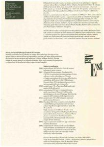 VAF 2000 Dossier Donation Fonds VAF Musee Lugano Masi