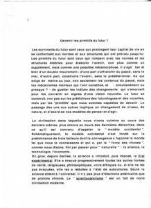 VAF 2001 Berger devenir Primitifs Futurs 2 PP525 1815